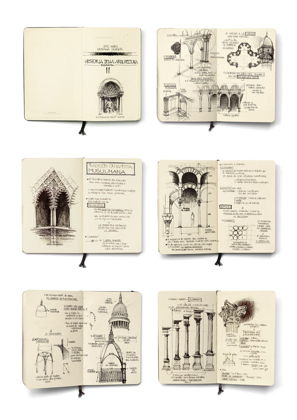 Classic Architecture Studies Sketch book, Sketchbook