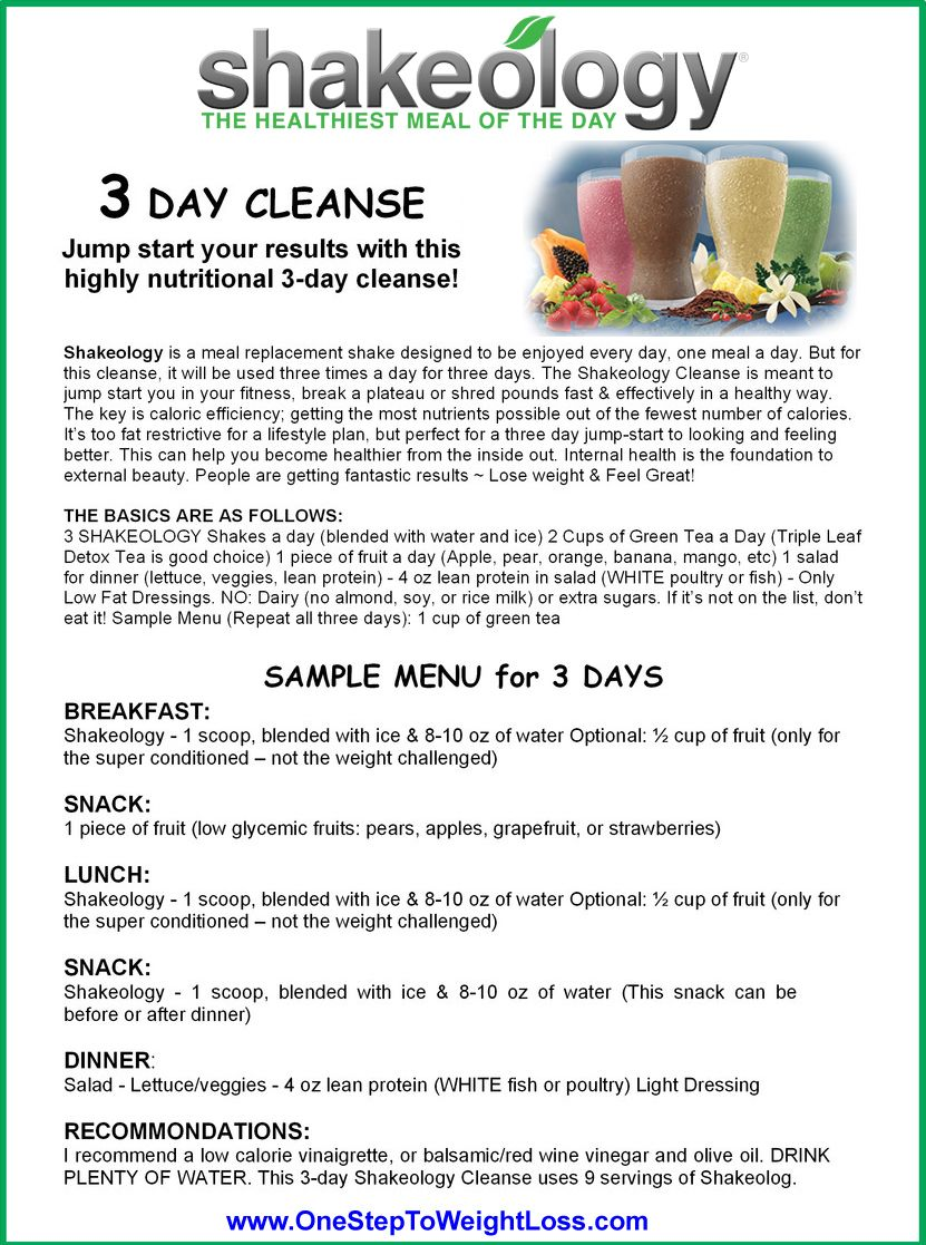 Shakeology 3 Day Cleanse: INSTRUCTIONS & REVIEW | 21 day fix