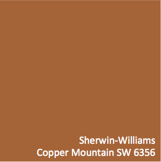 Sherwin Williams Copper Mountain Sw 6356