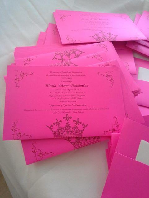 Invitaciones Para Quince A 241 Os By Qumircreations