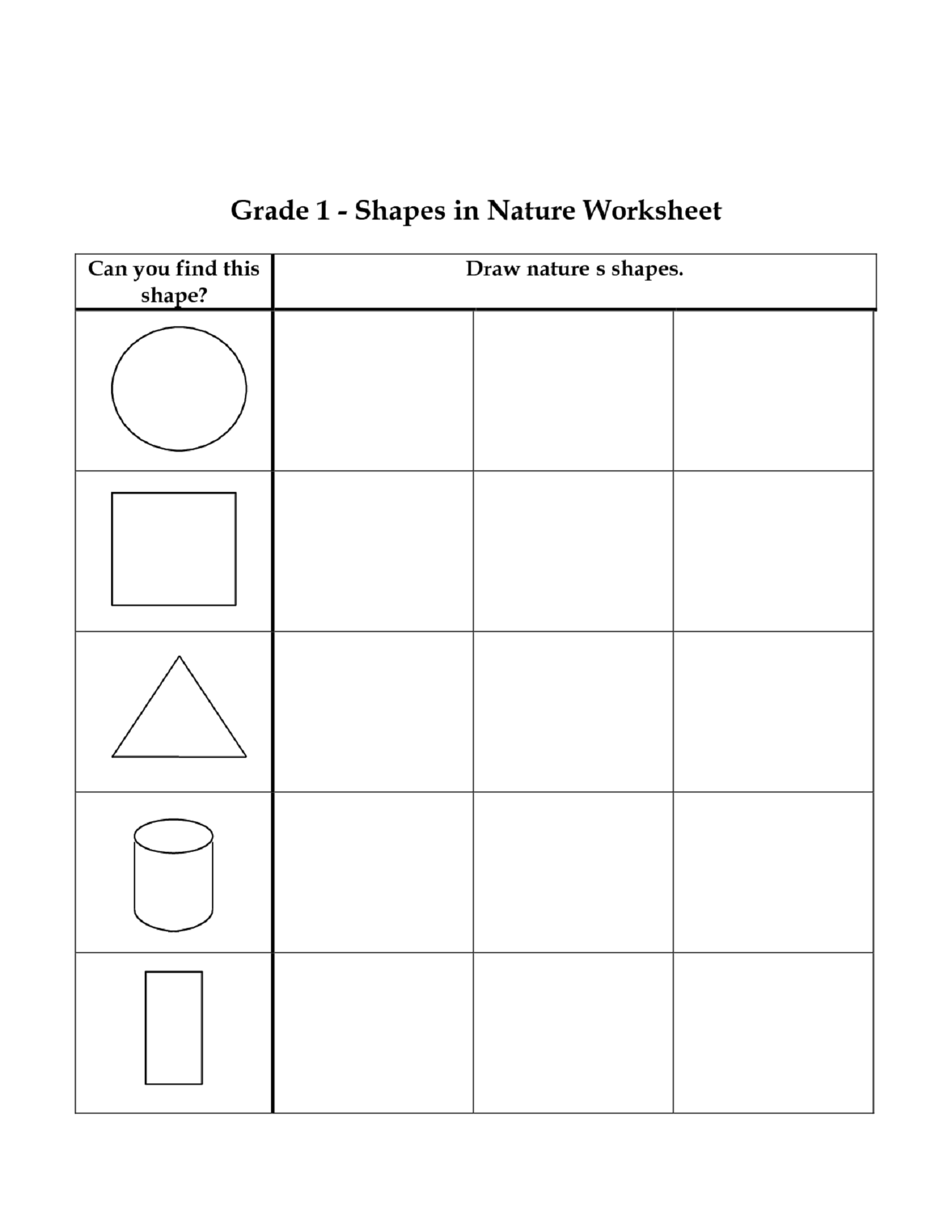 Math Sheets For Grade 1 For Fun Mathematics Lesson