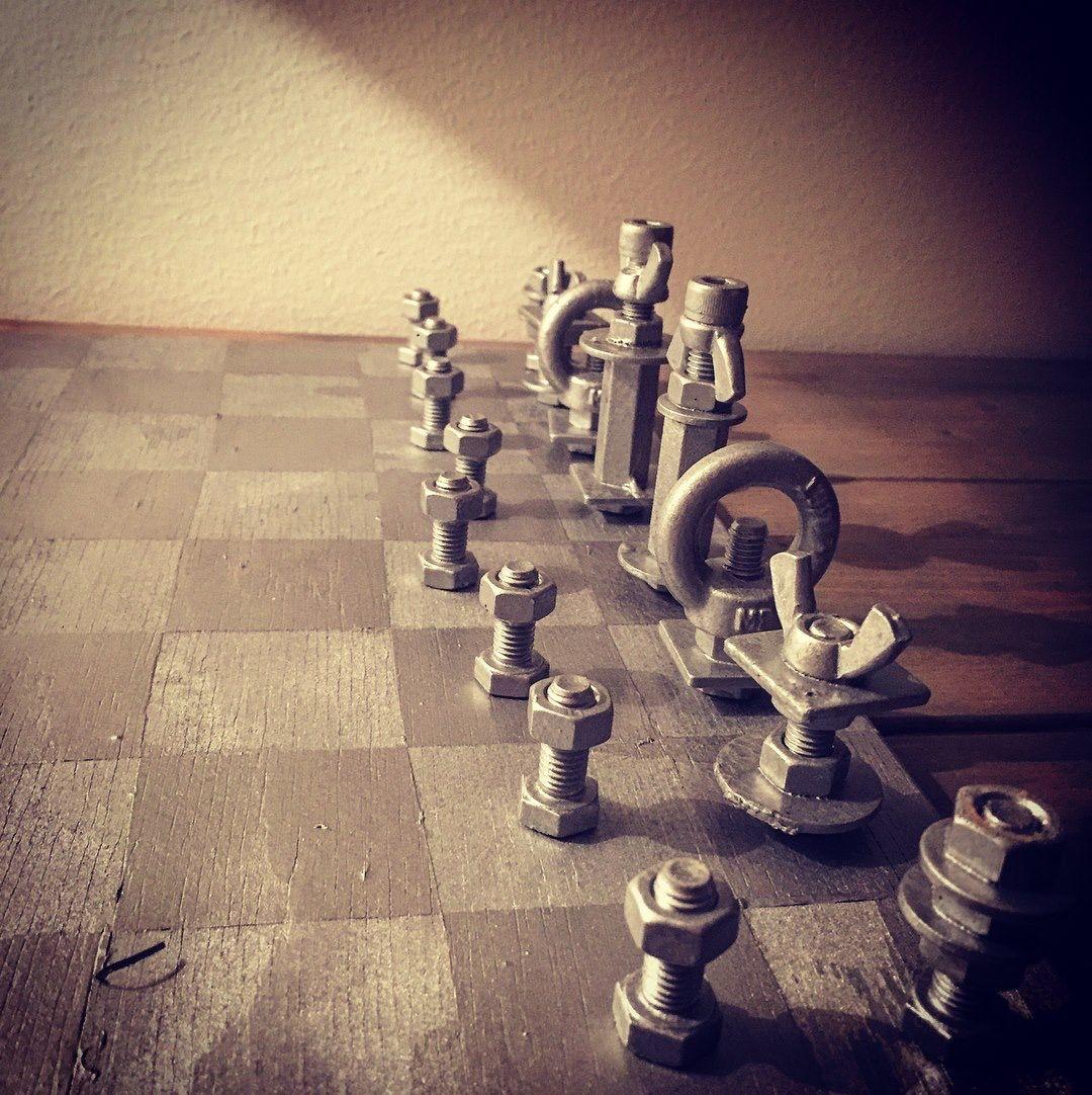 Chesspieces DIY