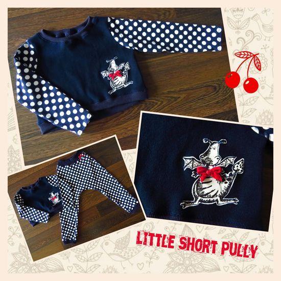 Foto zu Schnittmuster Little Short Pully von Lin-Kim | Alte Kleidung ...