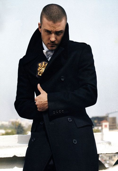 Justin Timberlake knows how to work that Suit & Tie... even under that fashion-forward coat.