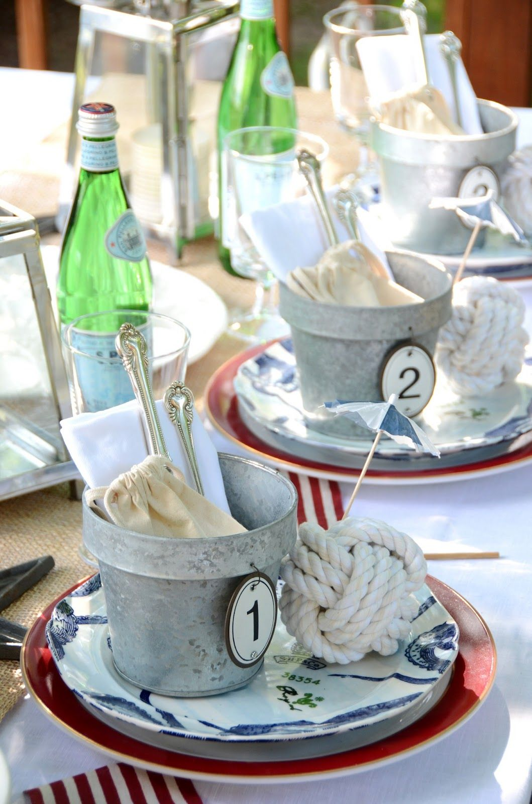 25 Fabulous 4th Of July Decorations Nautical Table