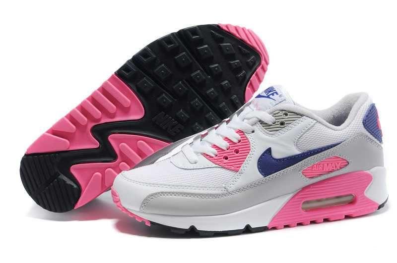 buy online 307e2 9aae4 1767   Nike Air Max 90 Dam Rosa Lila Rosa Grå SE421657KlOoEND
