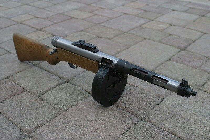 Degtaryev PPD-31 SMG | 1/2WW/Arms/Equipment | Guns ...