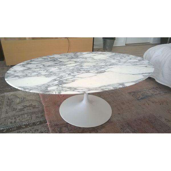 Table Knoll Eero Saarinen Tulipe Ovale Table Basse Table Basse Marbre Table Basse Ovale