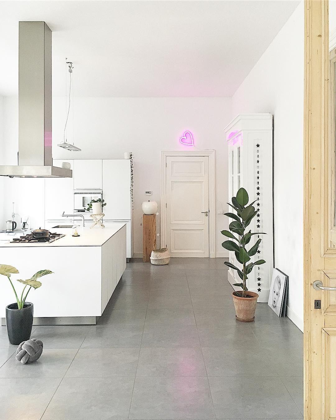 LED-Wandleuchte Heart | Leuchtschrift, Deko küche und Küchen ideen