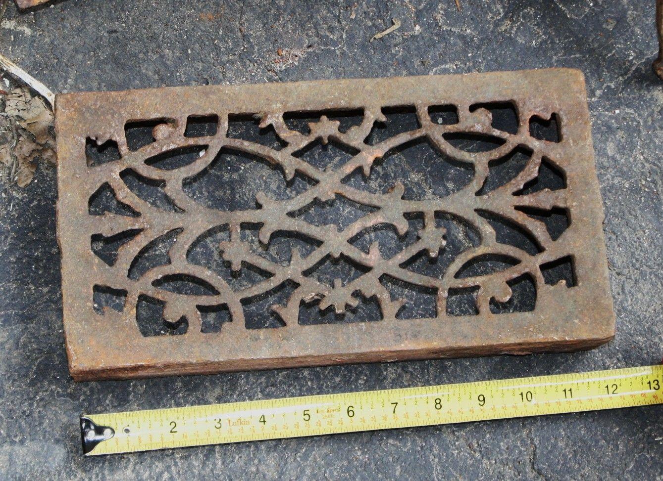 Antique Cast Iron Floor Registers For