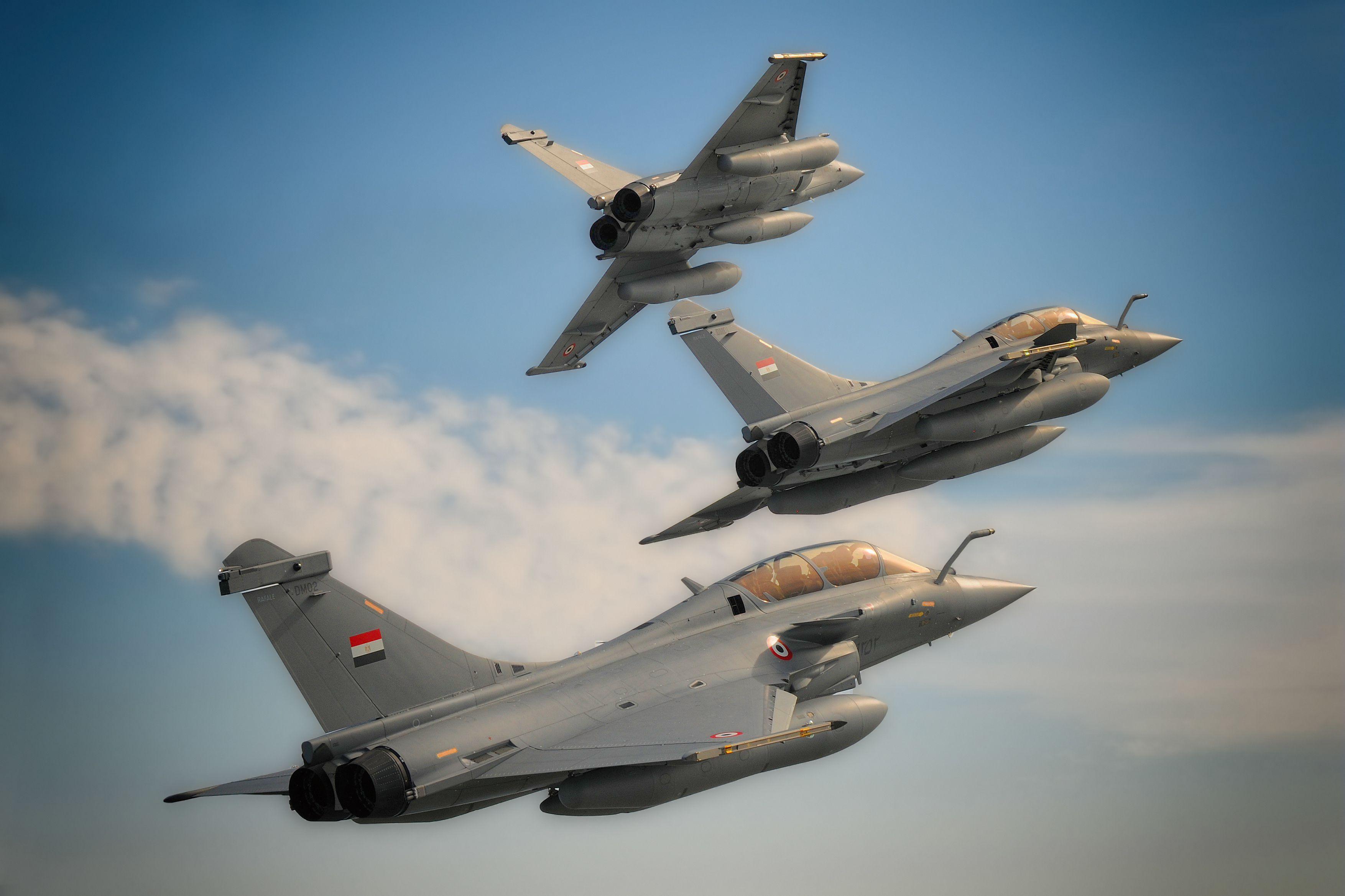 Egyptian Dassault Rafale EM [3508x2339] Fighter jets