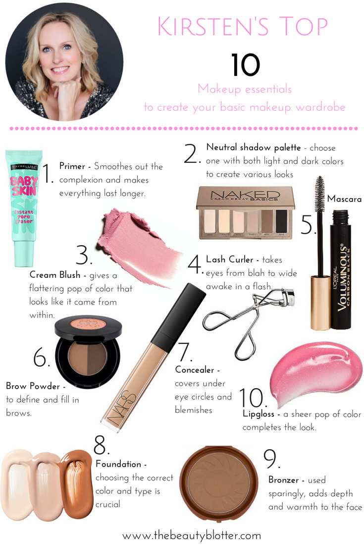 The top 10 makeup basics every woman needs in her makeup bag | MAKEUP BASICS, MAKEUP ESSENTIALS, MAKEUP FOR BEGINNERS, MAKEUP CAPSULE WARDROBE, MAKEUP IDEAS ...