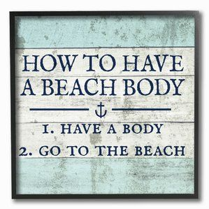 Wooden Beach Signs Decor Entrancing Best Wooden Beach Signs  Beachfront Decor  Beach Wall Decor Inspiration