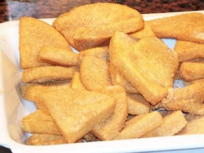 Bammy, or bammie, is a cassava bread descended from the ...