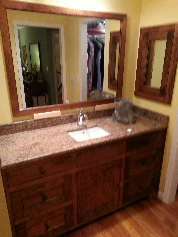 Bathroom Vanities Johnson City Tn cherry with walnut stain with inset doors bathroom vanity and