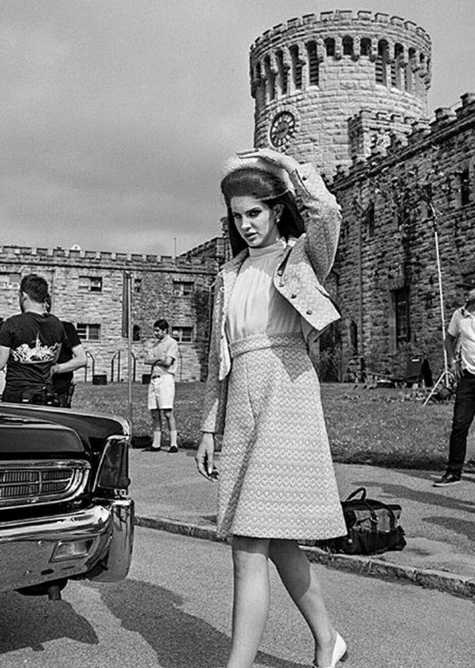Lana Del Rey Behind The Scenes Of National Anthem Music Video 2012 LDR
