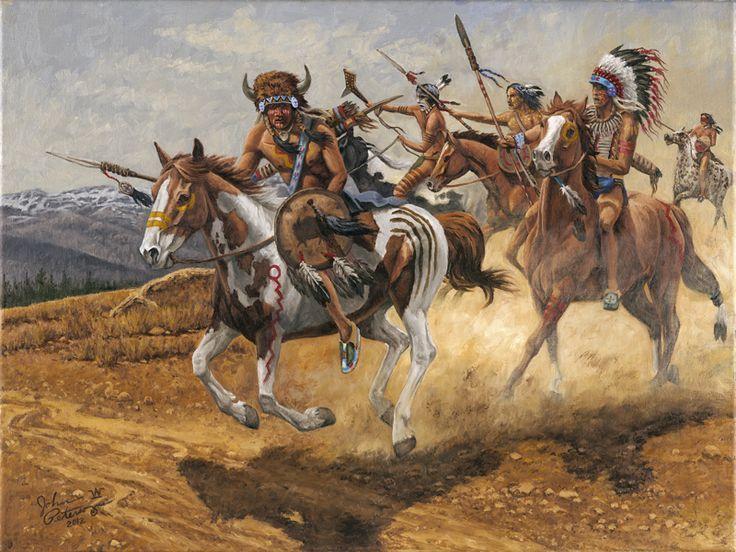 Native Art Joe David Painting Sale
