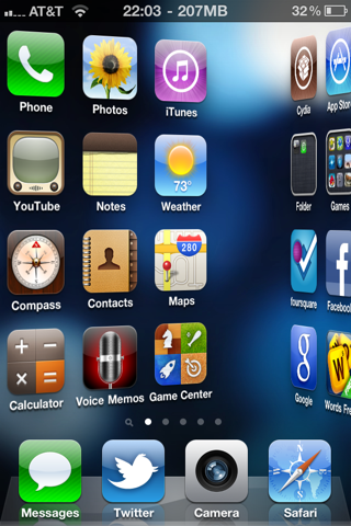 Barrel for iOS 7 Released To Customize iOS 7 Homescreen
