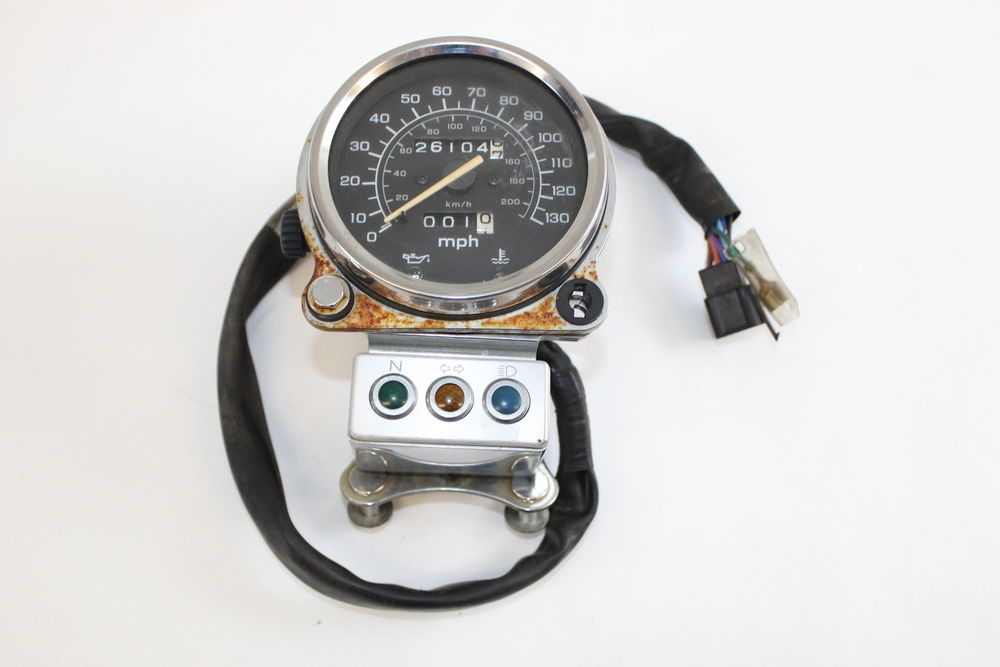 Honda Shadow Spirit Vt1100c 01 07 Speedometer Gauge 26k