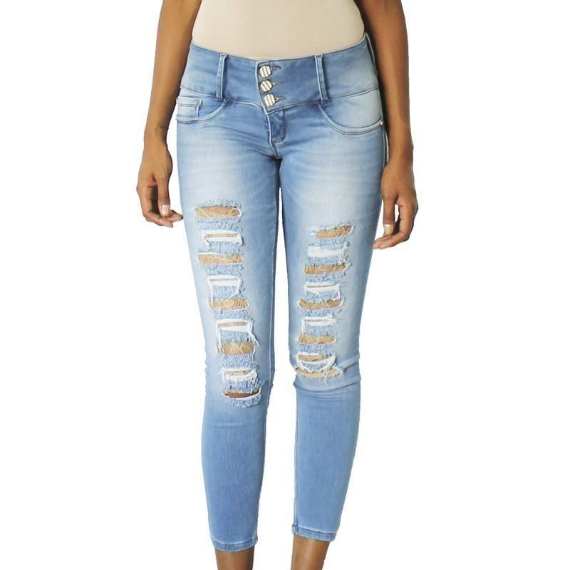 Calça Jeans Cós Médio Venda No Atacado | iClaz