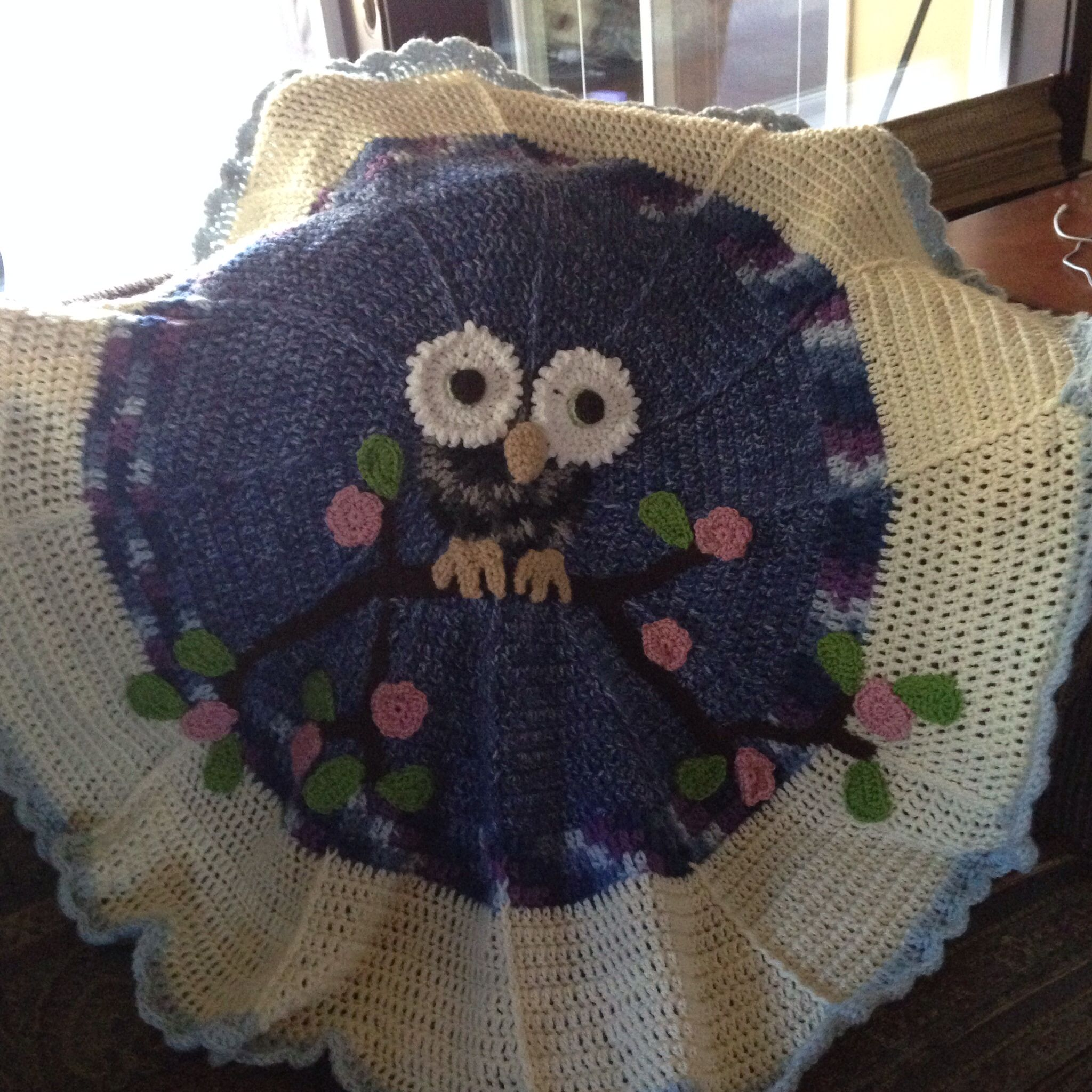 Crochet owl blanket pattern from redheart handmade crochet owl blanket pattern from redheart bankloansurffo Image collections