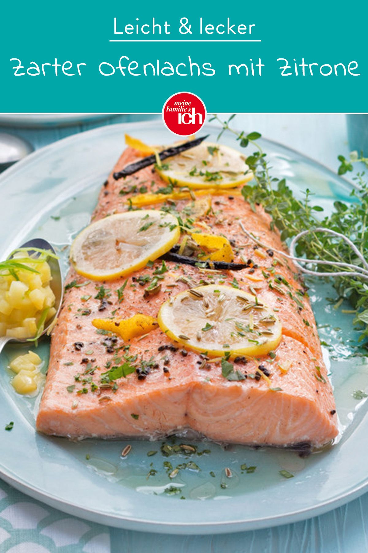 Photo of Tender oven salmon with lemon