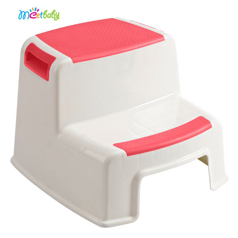 Potty Plastic Toilet Step Stool