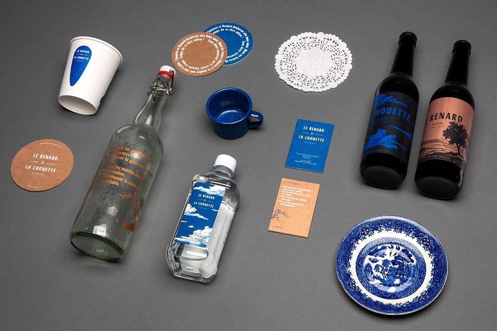 Branding et micro-site web, Le Renard et La Chouette | Criterium Design