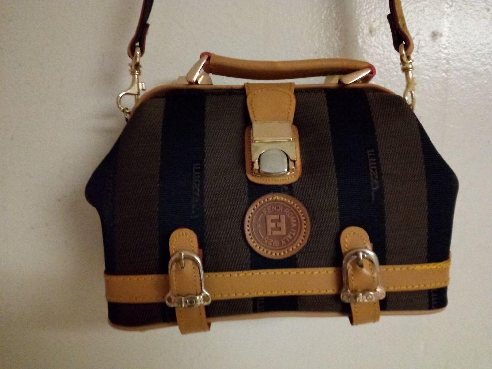 Fendi Roma Italy 1925 striped Shoulder bag  fashion  clothing  shoes   accessories  womensbagshandbags  ad (ebay link) b39edd2890909