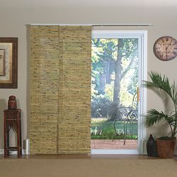 Sliding Gl Window Coverings Bamboo Slider Panel Blinds For Patio Doors And Windows