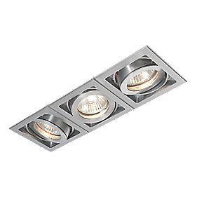 Saxby Recessed Aluminium 3-Light Downlights 240V | Downlights, Recessed spotlights, Bathroom ...