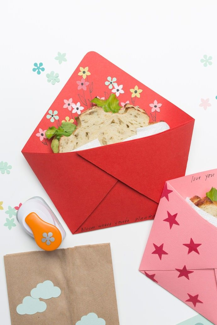 Make Your Own Origami Sandwich Pocket