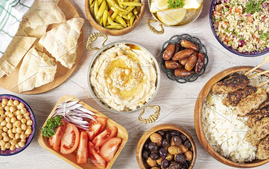 Iftar Food Table Evening Meal By Monnka Evening Meals Food