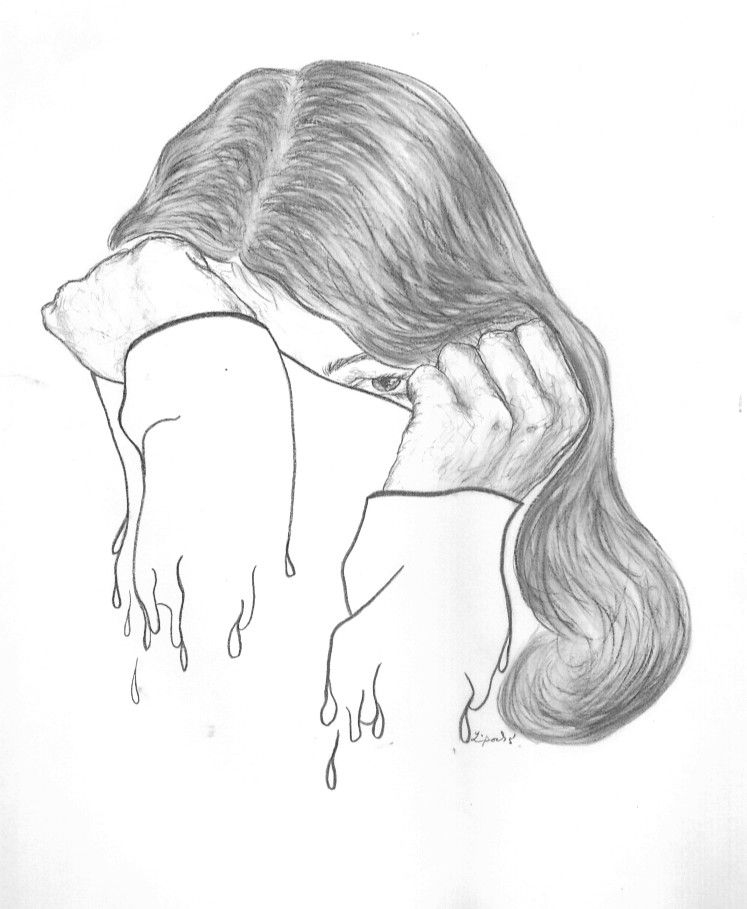 Drawing Girl With Sweater By Folkana.deviantart.com On