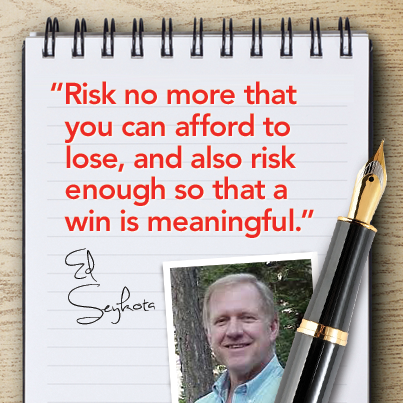 Trading Quote By Ed Seykota Trading Quotes Stock Market Investment Quotes