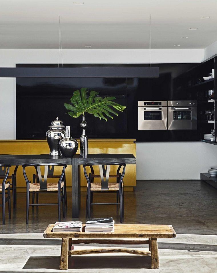 Mesas cocina modernas - Una guía para elegir la mesa de la cocina ...