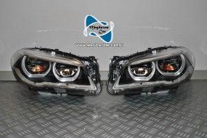 2x Neu Original Adaptive Full Led Scheinwerfer Headlights Nicht Bi Xenon Links Rechts Komplette Bmw 5 F10 F11 Bmw Led Headlights Headlights