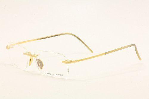 b874021ab6d3 Porsche Eyeglasses P 8124 P8124 A Limited Edition 18K Gold Rimless Optical  Frame 56mm Porsche.  7.50
