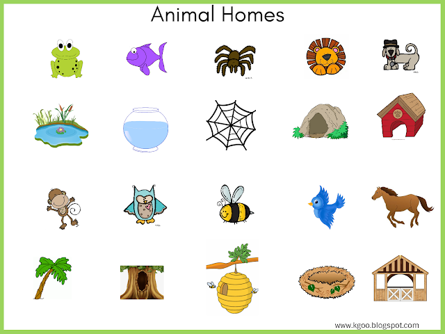Animal Houses Kids Activities Animal House Activities For Kids Crochet Projects