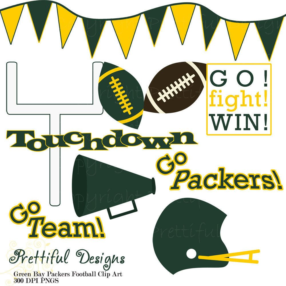 10++ Green bay packers clip art images ideas