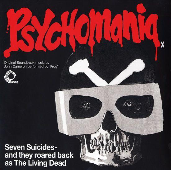 John Cameron Psychomania Original Soundtrack Lp Vinyl Record Album Soundtrack Music Soundtrack Vinyl Record Album