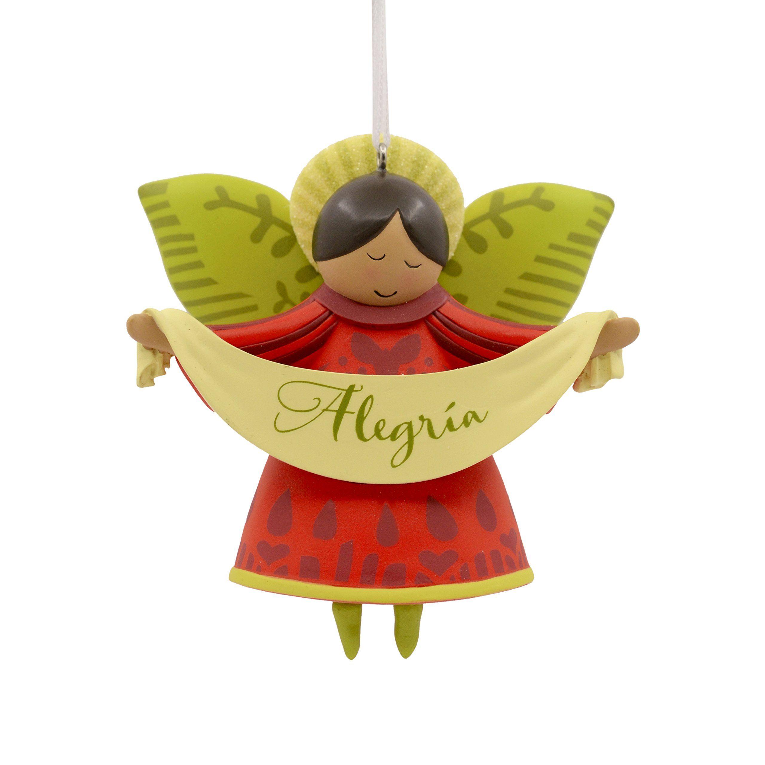 Hallmark Vida Christmas Ornament Alegria Angel Spanish Language See This Great Product Note Amazon Affiliate Link Christmas Ornaments Ornaments Hallmark