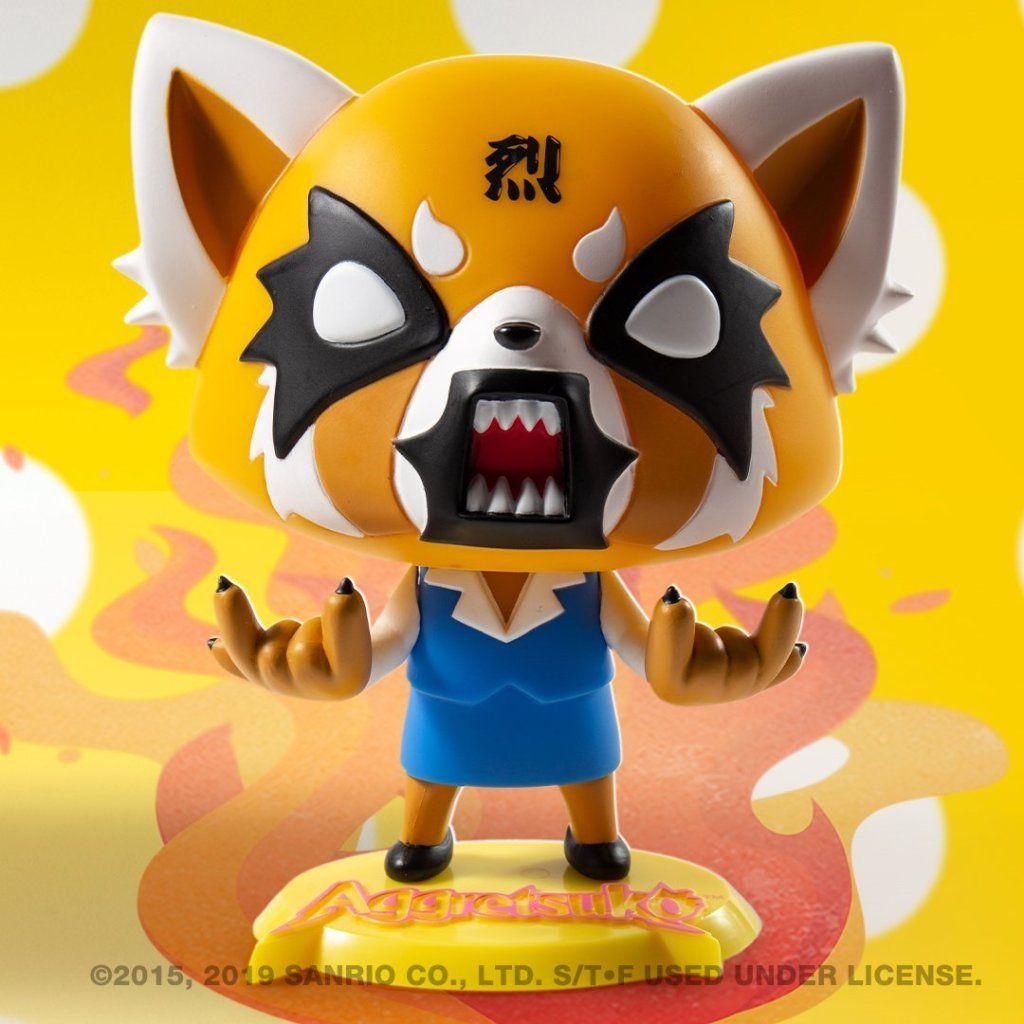 Aggretsuko Vinyl Mini Series Kidrobot Brand New Aggretsuko Karaoke