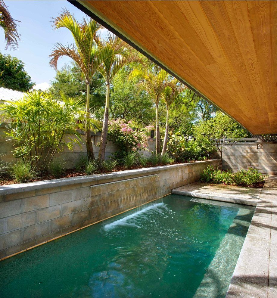 Pin By Amy Sopinski-Waterman On Small Modern Pool (With