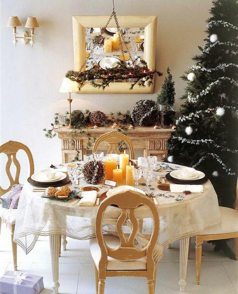 Adornos navideños para la mesa - cincuenta ideas geniales ...