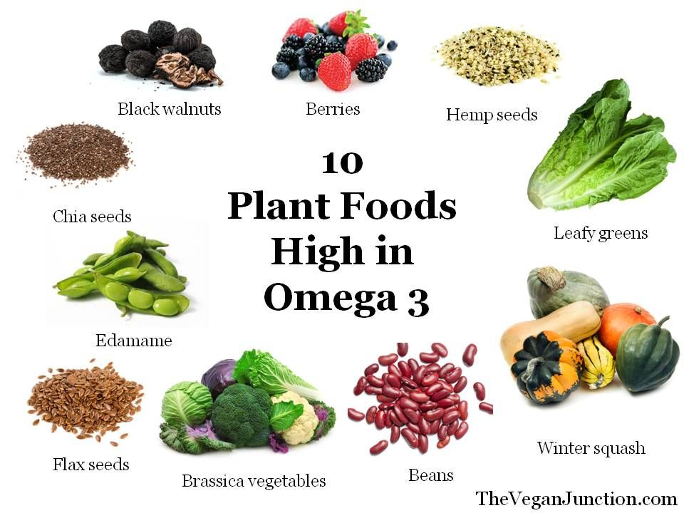 What Vegetarian Foods Are High In Omega
