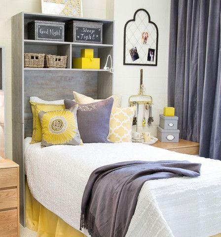 Bed Cubby Dorm Shelves Storages Decor
