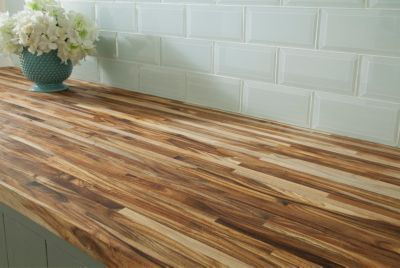 Acacia Butcher Block Countertop 8ft Floor Decor In 2020 Diy Wood Countertops Butcher Block Countertops Butcher Block