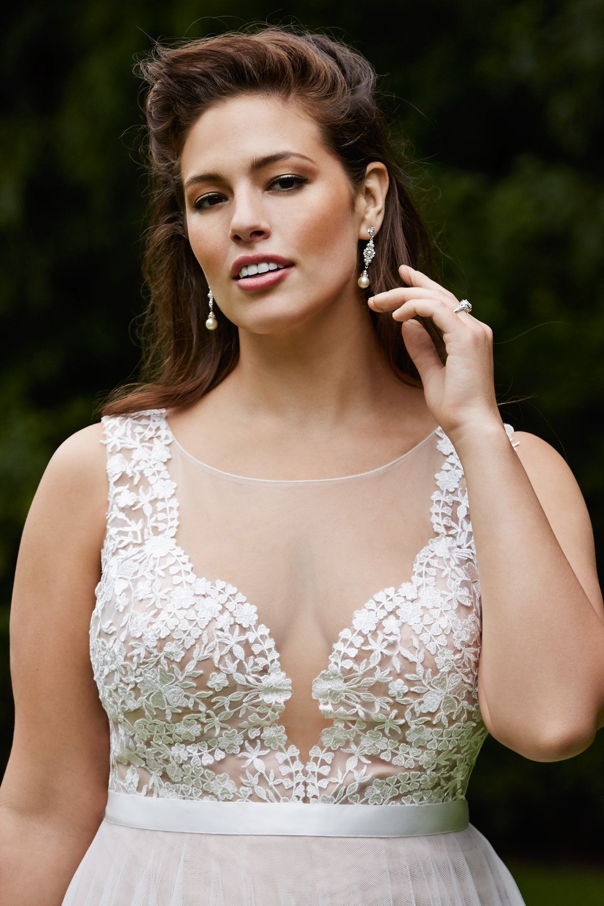Ashley graham wedding dress  I love love love love love LOVE this dress  Marnie   Brides