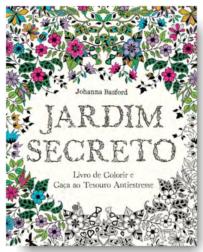 Livro Jardim Secreto - The Miscellaneous Post
